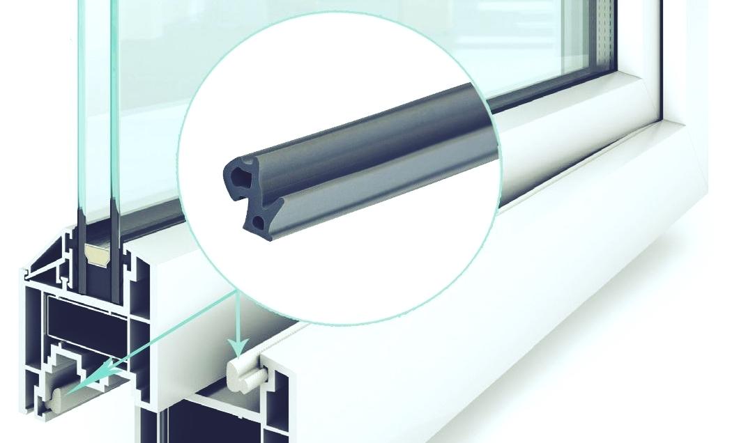 Уплотнительная резинка пластикового окна