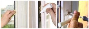 Смазывание фурнитуры и резиновых уплотнений на окнах