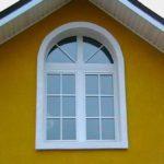 Окно с аркой
