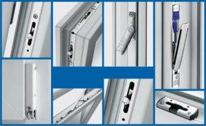 Набор фурнитуры для створки окна ПВХ